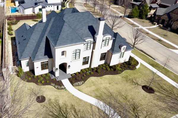 aerial photography north texas
